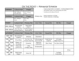 28 images of rehearsal schedule template infovia net