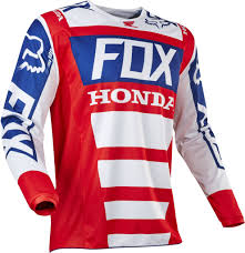 jersey motocross 2017 fox honda 180 hc motocross jersey 1stmx co uk