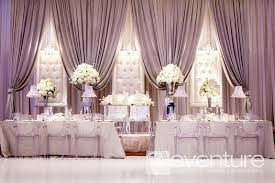 Wedding Head Table Decorations by Love This Backdrop And The Bridal Table Just Needs Lit Up
