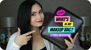 what u0027s in my makeup bag mini giveaway anna cay youtube