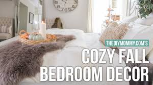 how to make your bedroom cozy how to make your room cozy for fall the diy mommy youtube
