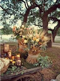 outdoor fall wedding ideas 36 awesome outdoor décor fall wedding ideas weddingomania