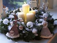 diy christmas table decorations part 1 wreaths u0026 bowls christmas