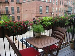 outdoor and patio corner balcony ideas mixed with hanging flower