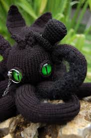 Borad Panda by Night Furrytopus My Knitted Monster From The Ocean U0027s Depths