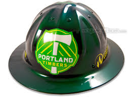 custom painted motocross helmets blowsion portland timbers custom paint