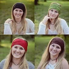 hippie bands hippie band hugger jersey knit bandeau headband