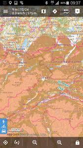 Map Colors Slope Shading In Different Colours U003c30 U003c35 U003c40