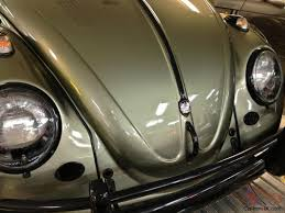 volkswagen beetle green volkswagen beetle restored vw bug absolutely stunning take a look