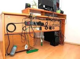 Computer Desk Cord Management Desk Wire Management Kresofineart