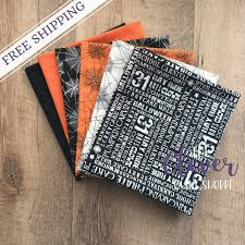 Halloween Cake Walk by Custom Halloween Fat Quarter Bundle Trick Or Treat By Carta Bella