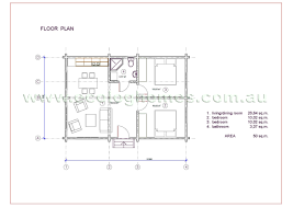 Granny Flats Floor Plans Granny Flat 4 Ecolog Homes