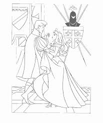 coloring pages sleeping beauty 516346