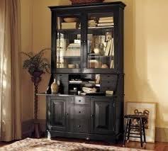 Desk With Hutch Black Black Desk With Hutch Foter