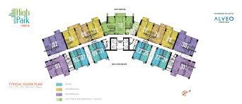 hp on floor plan alveo condo quezon city condo for sale high park