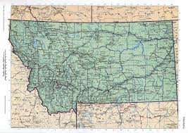 Montana Map Usa by Montana Mapfree Maps Of Us