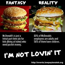 Meme Mcdonalds - mcdonalds minimum wage meme the progressive cynic