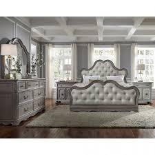 Upholstered Bedroom Sets Furniture Simply Charming Upholstered Bedroom Set