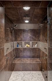 Bathroom Shower With Seat Attic Bathroom Shower Contemporary With Lighting Polished Mosaic