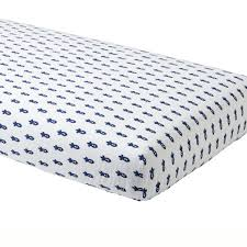 Fitted Sheets Bedding Cr Little Prints Rocket Ftd Sheet Bl 386465 Ll