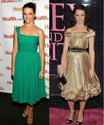 kristin davis shows how to dress for the pear body shape 1