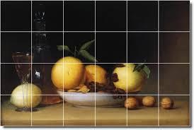 raphaelle peale fruit vegetables tile mural 30 loading zoom