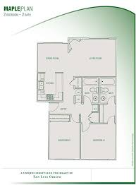 Floor Plans Parkwood Condominiums