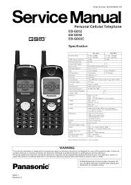 download free pdf for panasonic eb gd92 cell phone manual