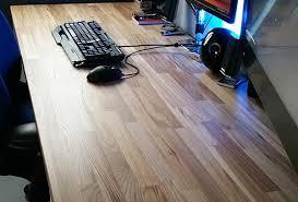plateau de bureau en bois création de bureau sur mesure en bois avec laboutiquedubois com