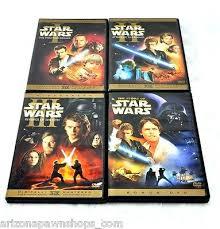 star wars prequel trilogy dvd widescreen 7 disc set 3 movies
