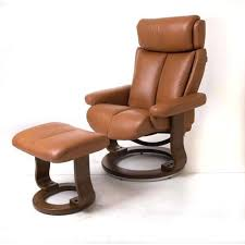 best choice products contemporary leather swivel recliner ottoman