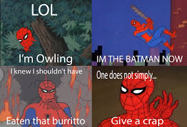 Spierman Meme - 60 s spider man meme by scratts on deviantart