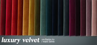 Upholstery Fabric Free Samples Luxury Velvet Shiny Designer Smooth Thick Material Cushion
