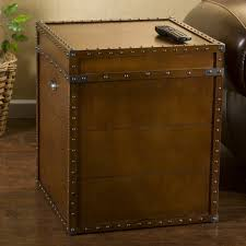 Coffee Tables With Drawers by Furniture End Table With Drawers Trunk End Tables Rustic Trunk