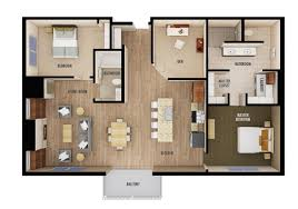 Bedroom Floorplan by Floorplans Chateau Waters St Cloud Mn