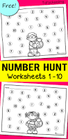 number recognition worksheets totschooling toddler preschool