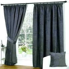 Blackout Curtains Black Black And Silver Curtains Pencil Pleat Lined Curtains White Black