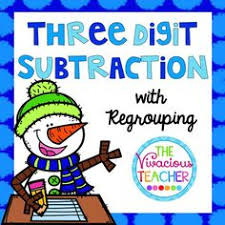 free 3 digit subtraction with regrouping worksheets ccss 3 nbt 2