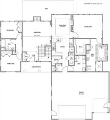 Center Hall Colonial Floor Plans Ryan Homes Floor Plans Just Listed Oberlin Model By Ryan Homes