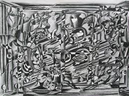 black and white abstract caren u0027s creative canvas u0026 craft