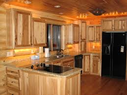 Rustic Hickory Kitchen Cabinets Kitchen Cabinets Peterson Custom Cabinets