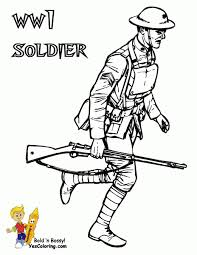 soldier drawing for kids drawing sketch picture