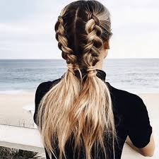 11 ways to wear braided pigtails that don u0027t look childish hair