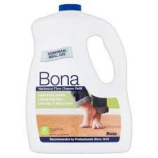 Wood Floor Cleaning Products Bona Hardwood Floor Cleaner Refill 96 Fl Oz Walmart