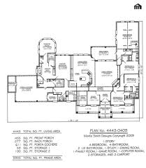 7 2500 sq ft one level 4 bedroom house plans bedroom house plans 1