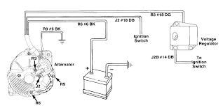 basic alternator wiring diagram efcaviation com