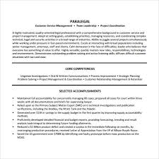 Sample Litigation Paralegal Resume by Sample Paralegal Resume 11 Download Free Documents In Pdf Word