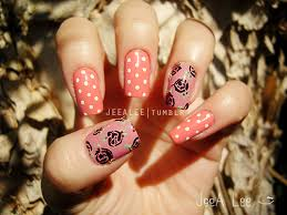 66 cute and chic rose nail art designs 39