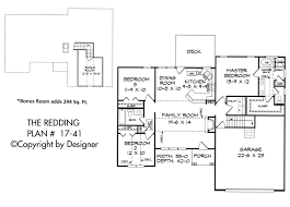 Traditional Floor Plan Redding House Plan House Plans By Garrell Associates Inc