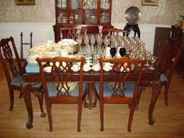 Chippendale Dining Room Set Dr Julian Fleming Cardiologist Copeland Estate Sales